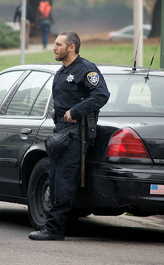 Oakland Police Department - An officer of the Oakland Police Department in January 2009.