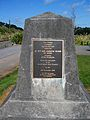 Obelisk marking last spike in New Zealand's main trunk line.jpg