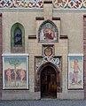 Obermenzing - Schloss Blutenburg - Eingang Kapelle 002.jpg