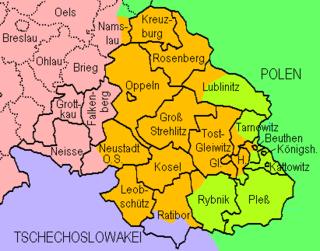 Upper Silesia plebiscite