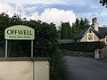 Offwell, Village Sign in Ramsden Lane - geograph.org.uk - 1418834.jpg