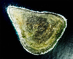 Photo aérienne de Okidaitō-jima