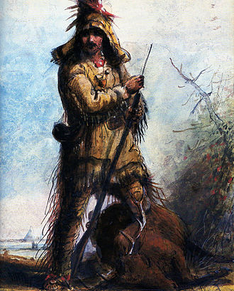 "Mountain man - Rocky Mountains Trapper (supposedly) William ""Old Bill"" Williams"