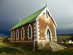 Old church in Middleton, built 1903
