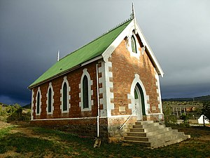 Middleton, Eastern Cape - Old church in Middleton, built 1903