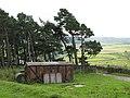 Old railway goods van, Nookton Farm (2) - geograph.org.uk - 507501.jpg