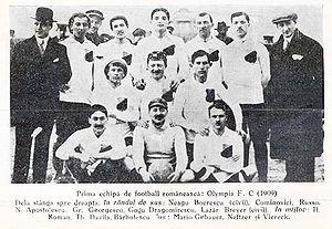 Olympia București - Olympia squad in 1909