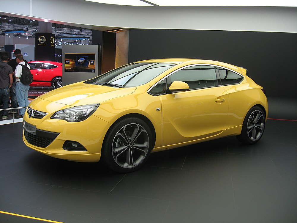 opel astra - eanswers