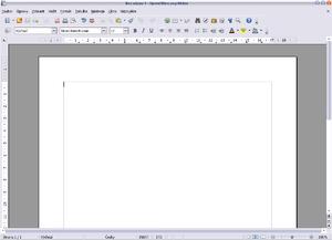 OpenOffice.org Writer 1