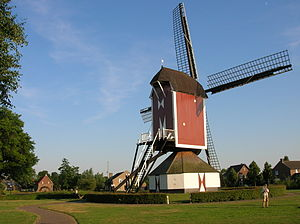 Sint Anthonis - Windmill in Oploo