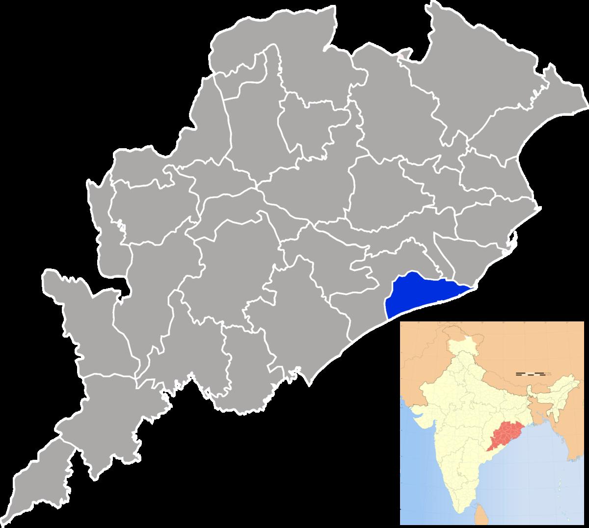 District de Puri — Wikipédia