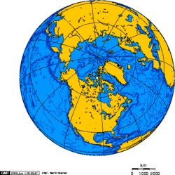 Orthographic projection centred over Resolute Bay, Nunavut, Canada.png