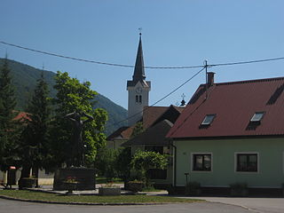 Osilnica Settlement in Slovenia