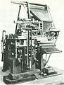 Ottmar Mergenthalers linotypesättmaskin.jpg