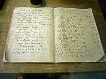 Otto Hahn's notebook 1938 - Deutsches Museum - Munich.jpg