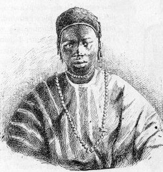 Ethnic groups in Senegal - Wolof of Cayor (1890 engraving)