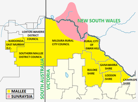 Outline map of the Mallee and Sunraysia regions.png