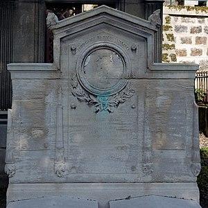 Ferdinand de Villeneuve - Ferdinand de Villeneuve and his brother Julien's grave at the cimetière du Père-Lachaise