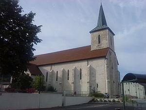 Péron, Ain - Church of Saint Antoine