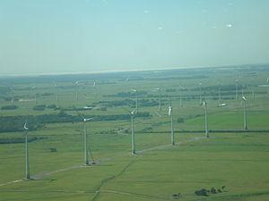 Renewable energy in Brazil - Windfarm in Osório, Rio Grande do Sul.