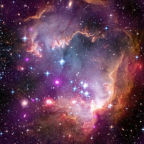 nasa finds blue star - HD1280×1280