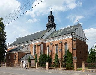 Przasnysz Place in Masovian Voivodeship, Poland