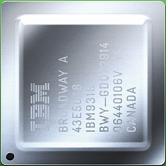 Broadway (microprocessor) - Image: PPC750 Broadway