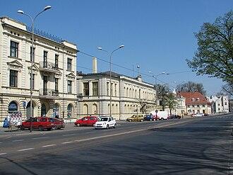 Pabianice - Zamkowa Street