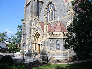 Packer Memorial Chapel - Image: Packer Chapel 1