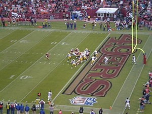 2006 San Francisco 49ers season - The 49ers on offense against the Packers on August 16
