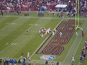 The Green Bay Packers at the San Francisco 49e...