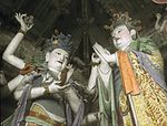 Painted clay sculptures of Ming dynasty in Dahui Si (Temple of the Great Wisdom) (6024677425).jpg