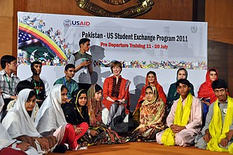 Student exchange program - Pakistan to U.S. Student Exchange Program, July 2011