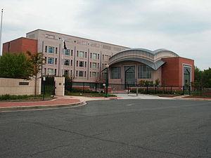 Naulakha Pavilion - The architectural style of the Pakistani embassy in Washington, D.C. is inspired by the Naulakha Pavilion.