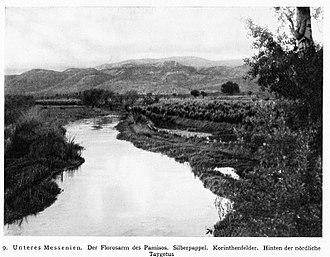Pamisos (river) - Pamisos river in 1912
