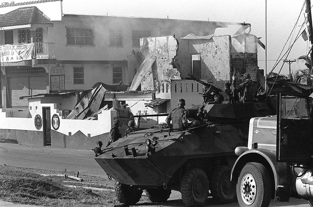 United States Invasion Of Panama Wikiwand