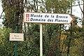 Panneau direction Domaine Planons route Planons St Cyr Menthon 1.jpg