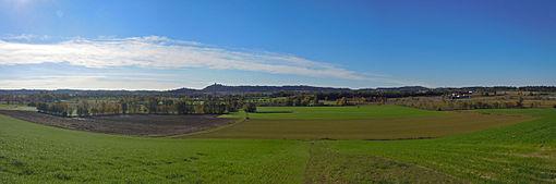 Panoramica della zona di Solferino