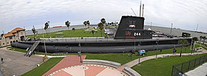 USS Cavalla (SS-244) - The USS Cavalla (SS-244), at the Seawolf Park in Galveston.