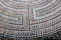 Paphos Haus des Dionysos - Mosaik Theseus 7 Labyrinth.jpg