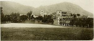 Murray Barracks - Parade Ground (published 1907)