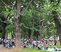 Parco di ueno, picnic.JPG