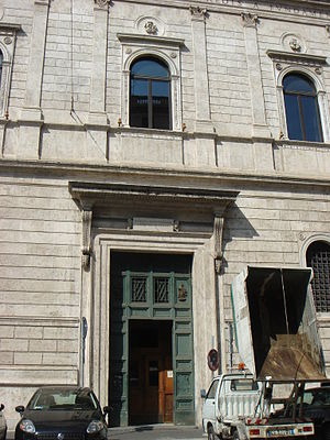 San Lorenzo in Damaso - Image: Parione san Lorenzo in Damaso 01448