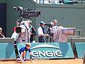 Paris-FR-75-open de tennis-25-5-16-Roland Garros-court Lenglen-caméramans-3.jpg