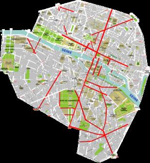 Cartina Politica Di Parigi.Trasformazione Di Parigi Sotto Il Secondo Impero Wikipedia