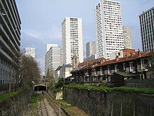 Vue des voies de la Petite Ceinture dans le 13 arrondissement, près de  Maison Blanche. 24345c695bc