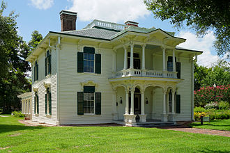 Paris, Texas - The Sam Bell Maxey House in July 2015