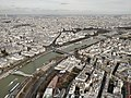 Paris View from the Eiffel Tower third floor Seine upstream Musée du Quai Branly 20180216.jpg