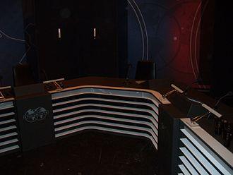 Parlamentet - The show's studio