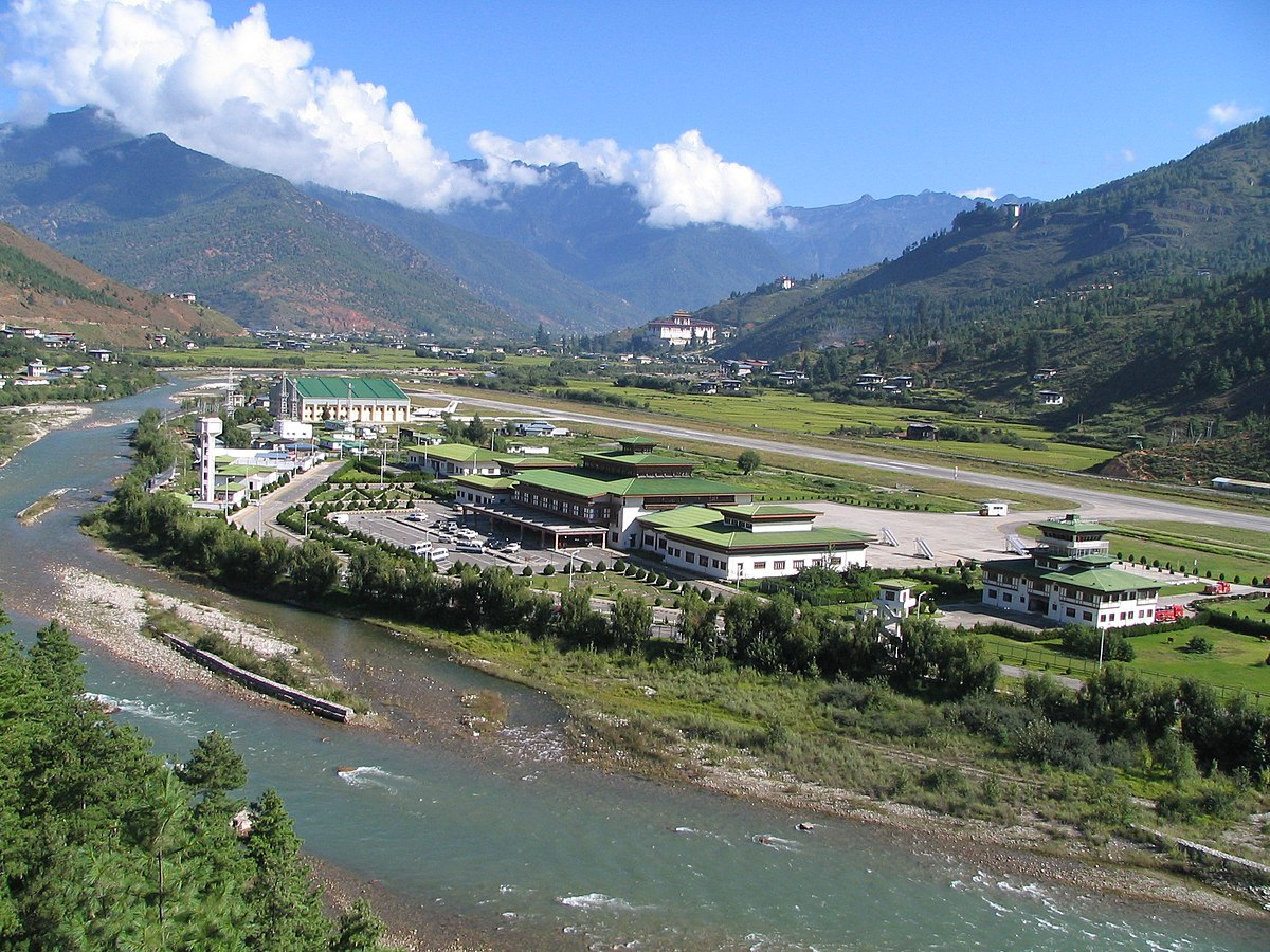 Image result for paro international airport bhutan